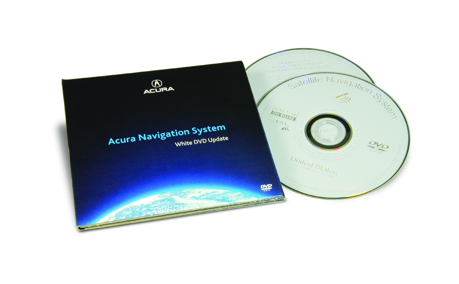 The Official Acura Map Update Site | RL | 2005 | 2018 White DVD Map